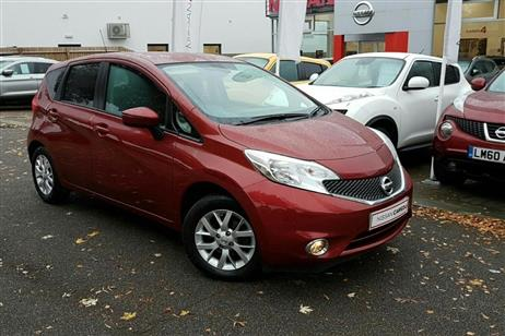 Nissan NOTE HATCHBACK 5-DOOR used CITY CARS