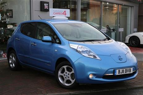 Nissan LEAF 5 DR HATCHBACK used ELECTRIC VEHICLES