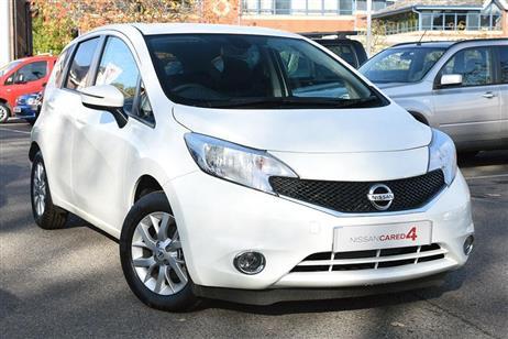 Nissan NOTE HATCHBACK 5-DOOR used CITY CARS