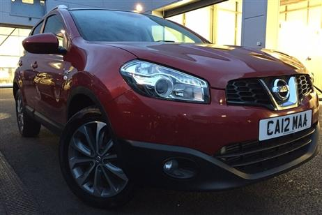 Nissan QASHQAI HATCHBACK 5-DOOR used CROSSOVER